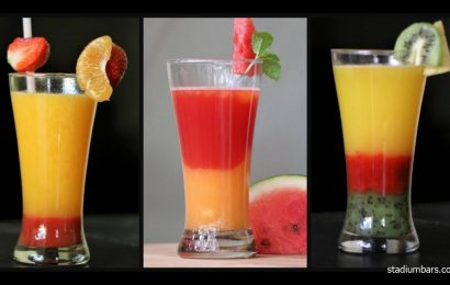 7 Pilihan Mocktail Fresh Akan menemani anda bersantai di Sport Bar